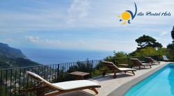 Luxury Villa to rent in Ravello for holiday on Amalfi Coast - 5 Bedrooms - Sleeps 10 - Small Sea View, Terrace and Private Pool