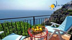 Holiday apartment to rent in Castiglione di Ravello  (3 km from Amalfi) - 2 Bedrooms - Sleeps 4 - Sea View, Balcony