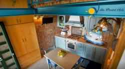Holiday Loft Apartment to rent in Pontone for 2 people. Access to trail connecting  Ravello, Scala, Pontone Amalfi.