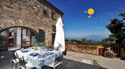 Villa to rent in S. Agata sui 2 Golfi for vacation in Sorrento area - 5 Bedrooms - Sleeps 10 - Sea and Garden View, Large Patio, Terrace and private pool